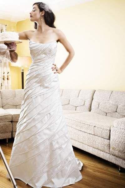 超美麗《白色婚紗》妳喜歡哪一款~? - 圖片27