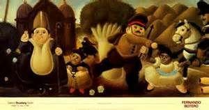 Title: Massacre of the Innocents Artist: Fernando Botero