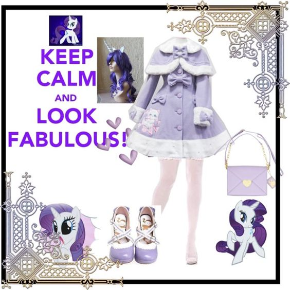 """""""Rarity lolita"""" by julchan ❤ liked on Polyvore"""