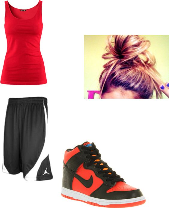 U0026quot;Basketball outfitu0026quot; by ayee-mahomie-for-lifee on Polyvore | Polyvore | Pinterest | Basketball ...