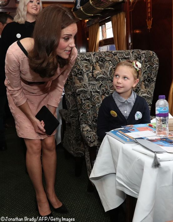 What do you wear to go dancing with Paddington Bear? An Orla Kiely dress, of course. The Duchess surprised us this morning with an unexpected appearance. She joined Prince William and Prince Harry at (where else?) Paddington Station. Kate has been so ill she was not expected to attend today's Charities Forum event but felt well enough …