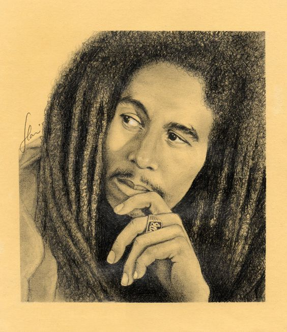 Bob Marley by hrm-n on DeviantArt