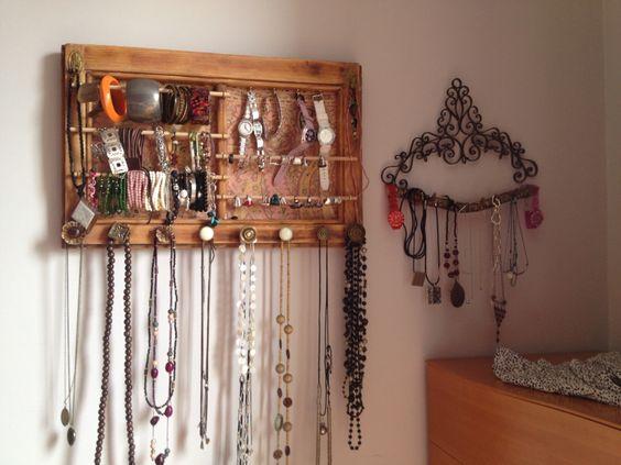 Organizador collares, pulseras, anillos , relojes