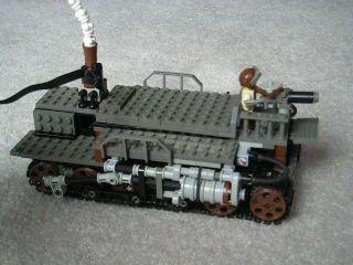 Medium Steam Transport Vehicle Mk. XXXV (video), via Flickr.