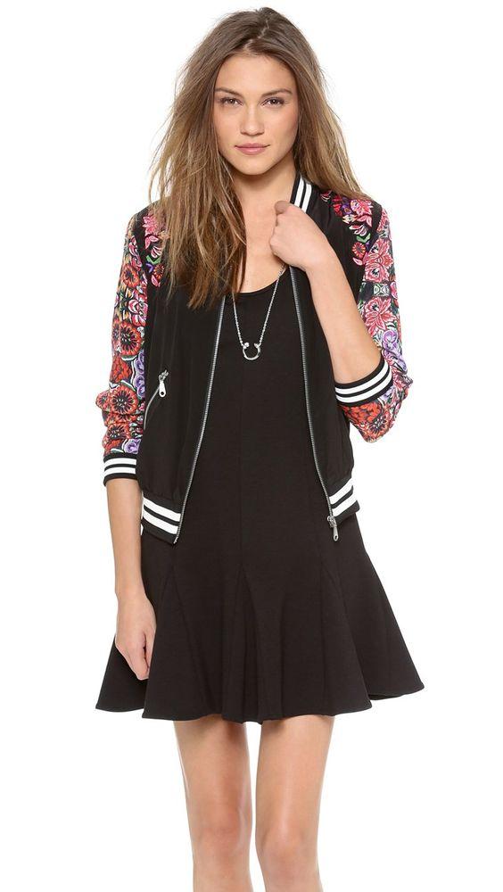 Pin for Later: 11 pièces superbes en soldes rien que pour vous ! Veste à fleurs Rebecca Minkoff Rebecca Minkoff 'Alma' jacket (330 € au lieu de 340 €)
