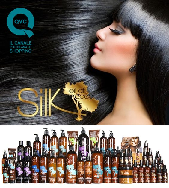 Diemme makeup: Il canale QVC lancia on air il nuovo brand SILK OIL OF MOROCCO