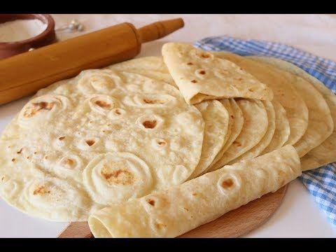 خبز التورتيلا او خبز الشاورما بطريقة ناجحة ومضمونة 100 باذن الله Lavas Ekmegi Youtube Recipes Food Food Dishes