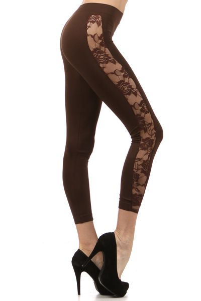 Look what we just got in!  Lace legging. $15.99 #freeshipping #lace #leggings #fashion #sexy #fun Leave your Paypal email or go to www.OceanAvenueBoutique.com
