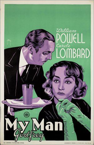 My Man Godfrey, Gregory La Cava, 1936.    You can't tell from the poster, but this is about as crazy as a comedy gets!!: