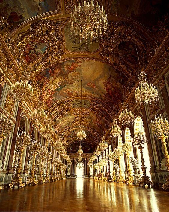 Hall of Mirrors, Neues Schloß Herrenchiemsee   Herrenchiemsee, Bavaria, Germany | © Jim  Zuckerman