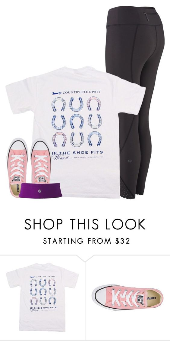 """""""girl problem!!! rtd!!!!!"""" by conleighh ❤ liked on Polyvore featuring Southern Proper, Converse and lululemon"""