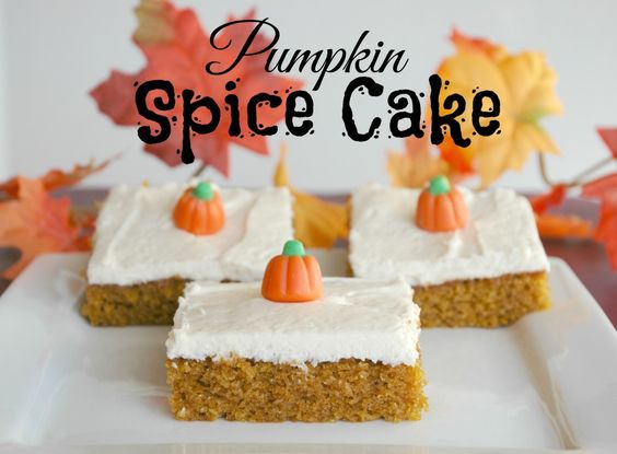 This Pumpkin Spice Cake is delicious and it's perfect to take to a holiday dinner or party.
