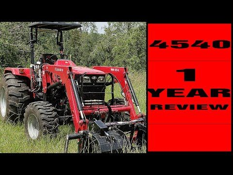 Mahindra Tractors Why You Should Buy One 4540 One Year Review Mahindra Tractor Tractors Years