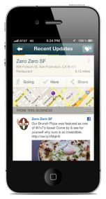 Twitter bought Spindle - the app that helps you discover local places of interest nearby.