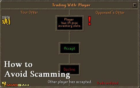 Osrs Tips How To Avoid Scamming In Old School Runescape With