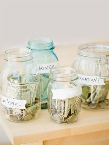"Use ""The Power of 4"" to help ""trick"" yourself into saving #Money"