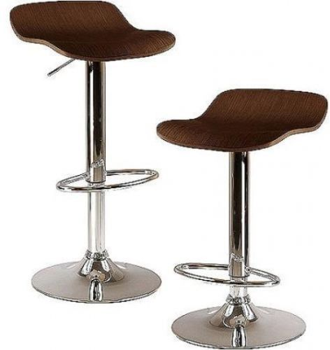 Airlift Adjustable Stool Set 2 Stools Home Bar Kitchen Drafting Chairs Seat Gift
