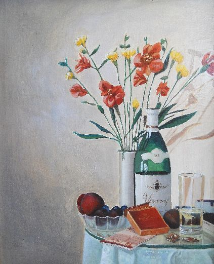 Still Life paintings by Preston Russell