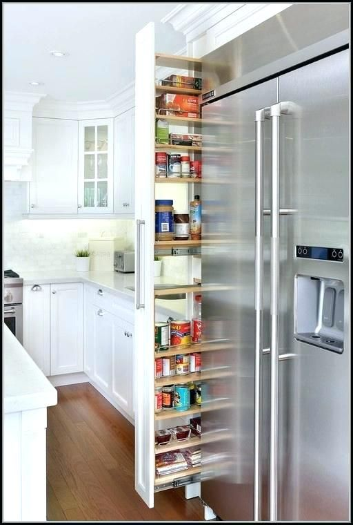 Narrow Pull Out Cabinet Organizer