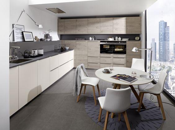 Artwood - Bough oak platinum   Feel Sahara soft mat #nolte #german - nolte küchen planer