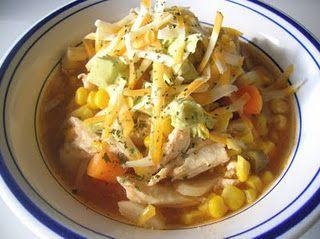 Slow Cooker Southwestern Chicken Stew