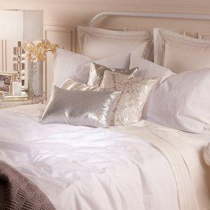 Zara home maison and cr pon de coton on pinterest for Housse de couette zara home