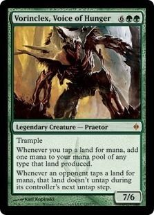 Vorinclex Voice of Hunger 1x/New Phyrexia/Rare/NM Magic the Gathering Card MTG