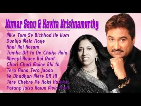 Kumar Sanu Kavita Krishnamurthy Duet Bollywood Hindi Songs Kumar Sanu Songs Hindi Old Songs