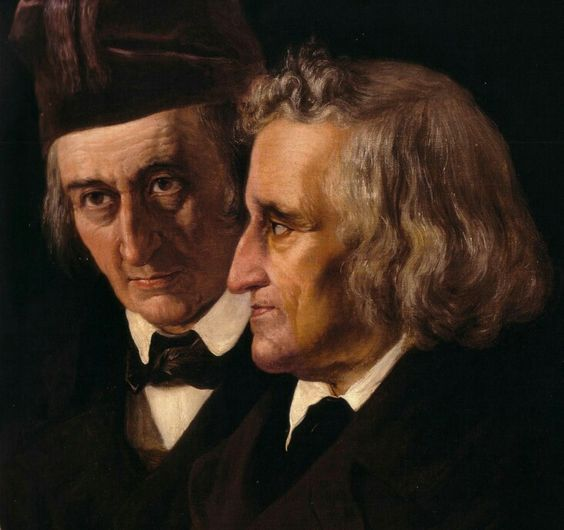 Elisabeth Jerichau-Baumann. Brothers Grimm (detail). 1855. | The Athenaeum