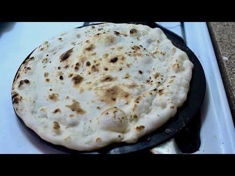 خبز التنور بدون فرن او تنور Tanoor Bread Without Oven Or Tanoor Youtube Cooking Recipes Recipes Food