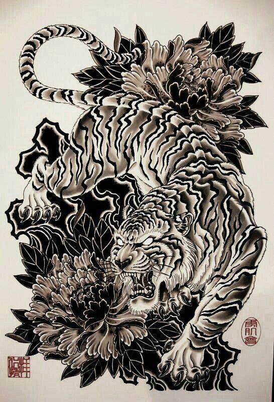 Japanese Tattoos Small Japanesetattoos Tiger Tattoo Design Japanese Tiger Tattoo Japanese Tattoo