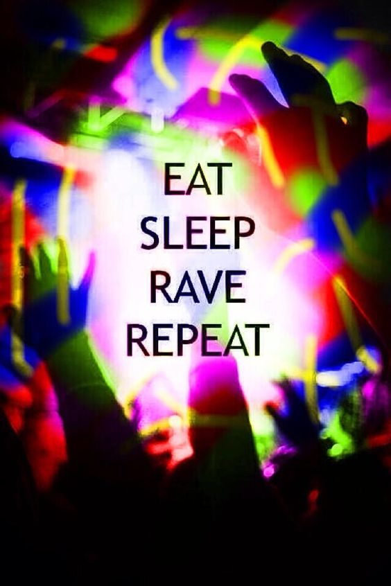 Eat sleep rave repeat always be a unicorn for Deep house rave