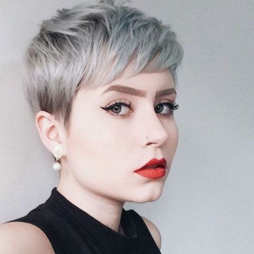 7 Haircut Short Hair Round Face Short Hair Styles For Round Faces Pixie Haircut For Thick Hair Round Face Haircuts