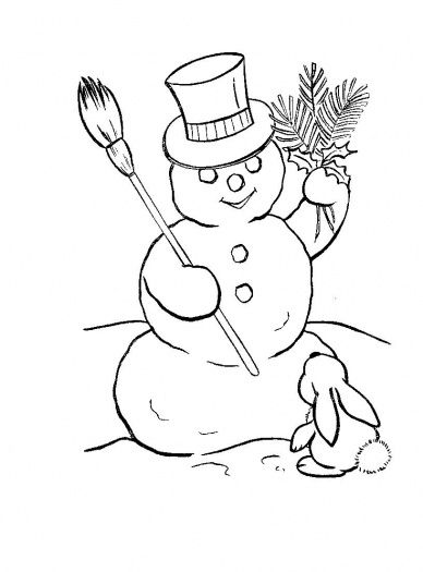 Christmas Snowman Drawings 2017 Snowman Paintings 6899wallpaper.jpg