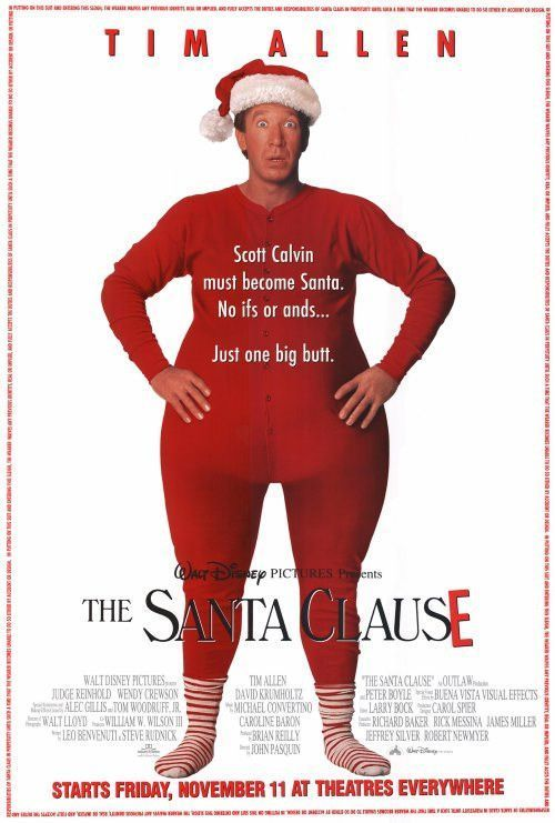 The Santa Clause 27x40 Movie Poster 1994 Best Christmas Movies Christmas Movies Family Movies