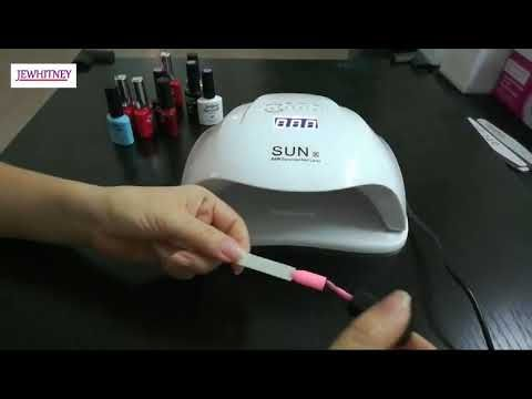 72 54 48 40 36w Uv Lamp Led Nail Lamp For Manicure Nail Dryer For Curing In 2020 Led Nail Lamp Cure Nails Uv Lamp