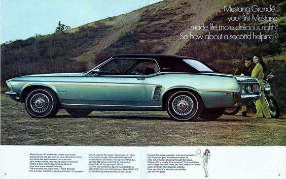 "endlessme: "" Via chromjuwelen "" Ford Mustang Grandé, 1969"