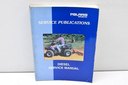 Polaris Service Publications Diesel Service Manual 9915234 Manual Yamaha Atv Repair Manuals