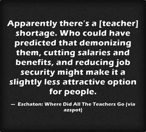 Quotes On Teachers Salary