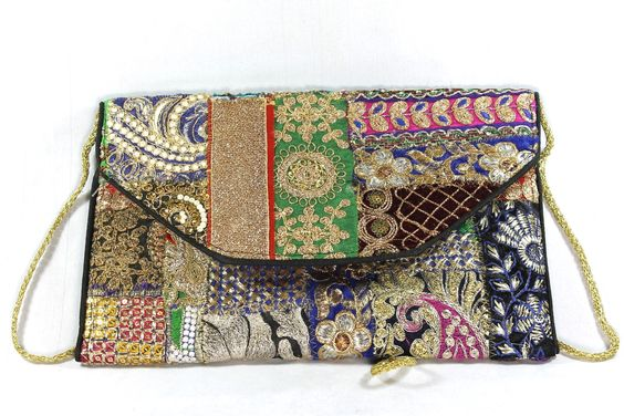 Zari Clutch Bag