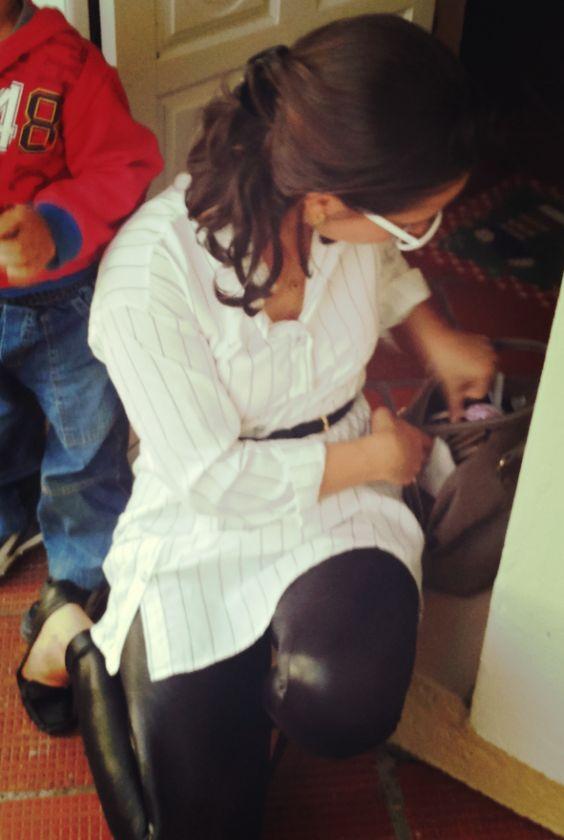 Blog Femina - Modéstia e Elegância: Legging da Live! e chemisier da SheIn