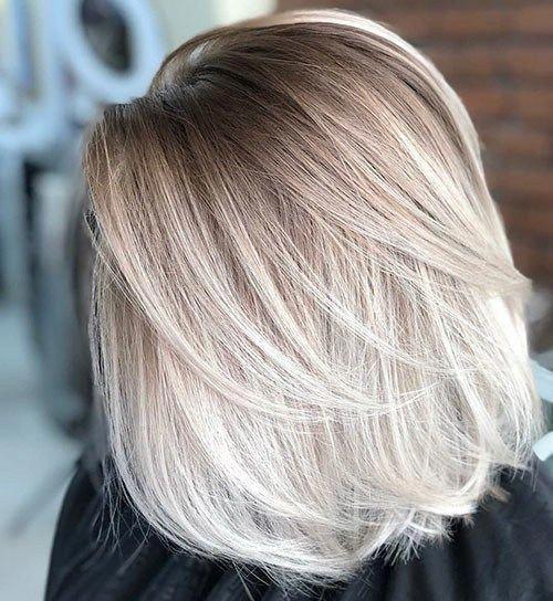 20 Best Blonde Ombre Short Hair Kapsels Halflang Asblond Lang Haar Kapsels Kort Haar Ombre