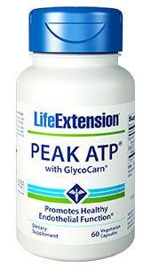 Peak ATP® with GlycoCarn® - 60 vegetarian capsules