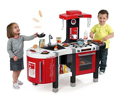 Smoby 311201 Tefal French Touch Bubble Kuche Mit Herd Grill