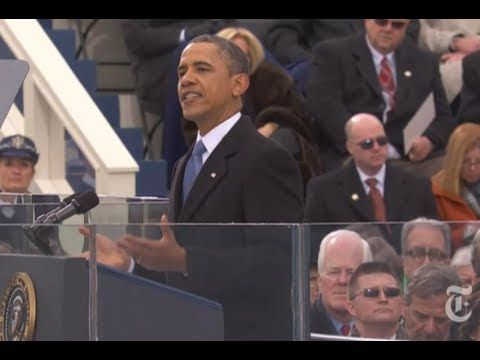 president barack obama's inauguration address 2013 : president barack obama deliver his inaugural address at the ceremonial swearing-in at the us capitol during the 57th presidential inauguration.