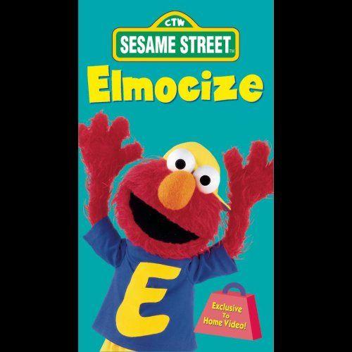 Sesame Street - Elmocize [VHS] - Listing price: $9.98 Now: $3.90