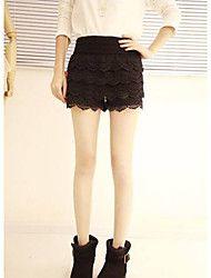 Women's Lace Tassels Base Shorts
