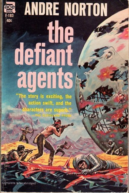 Emsh, The Defiant agents by Andre Norton, 1963.