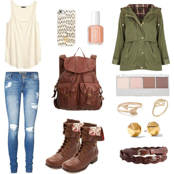 Another cute, simple outfit for school • teens • casual ... - photo#43