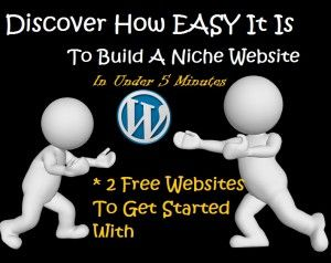In this lesson I show you how to get 2 free websites and how to pick the right niche to build your online business around. Minimizing the chances of failure